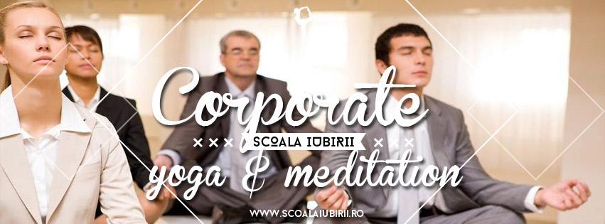 Corporate yoga & meditation