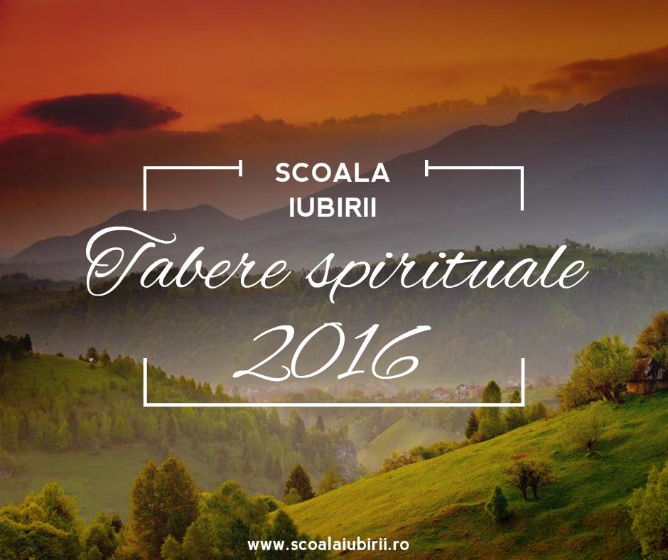 Tabere spirituale 2016